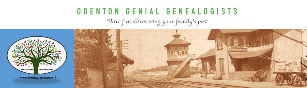 Odenton Genial Genealogists